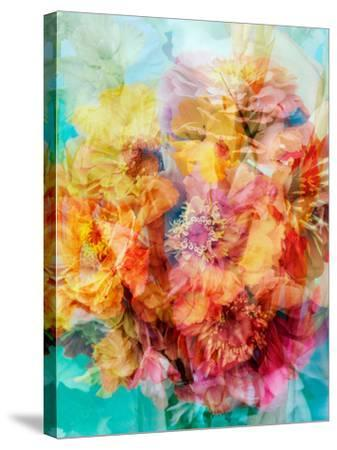 Photomontage of a Bouquet-Alaya Gadeh-Stretched Canvas Print