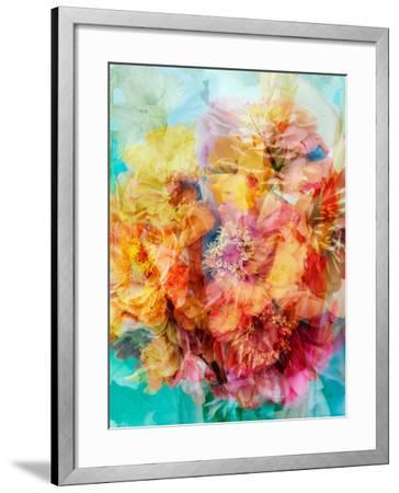 Photomontage of a Bouquet-Alaya Gadeh-Framed Photographic Print