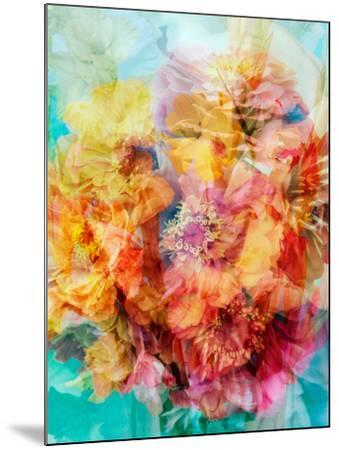 Photomontage of a Bouquet-Alaya Gadeh-Mounted Photographic Print
