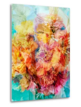 Photomontage of a Bouquet-Alaya Gadeh-Metal Print