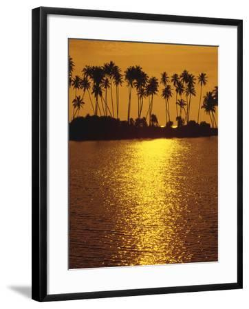 Palm Island, Sundown-Thonig-Framed Photographic Print