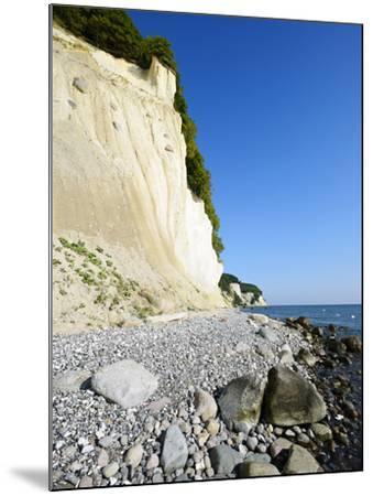 Chalk Rocks, National Park Jasmund, Island RŸgen, Mecklenburg-West Pomerania, Germany-Andreas Vitting-Mounted Photographic Print