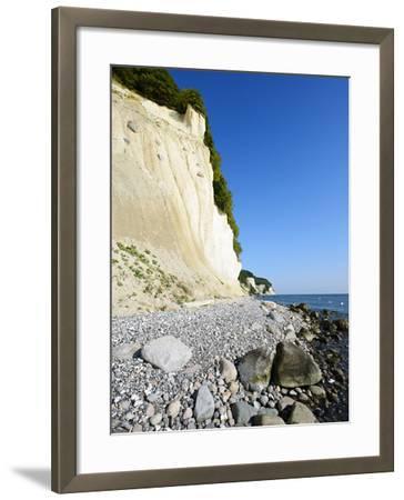 Chalk Rocks, National Park Jasmund, Island RŸgen, Mecklenburg-West Pomerania, Germany-Andreas Vitting-Framed Photographic Print