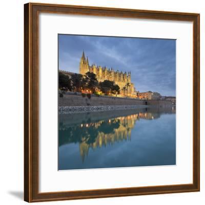 Spain, Majorca, Catedral De Palma De Majorca, Water-Rainer Mirau-Framed Photographic Print