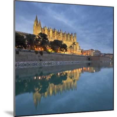 Spain, Majorca, Catedral De Palma De Majorca, Water-Rainer Mirau-Mounted Photographic Print