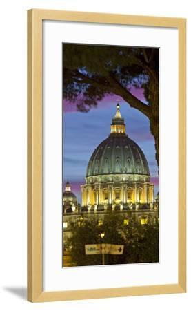 St. Peter's Basilica, Rome, Lazio, Italy-Rainer Mirau-Framed Photographic Print