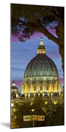 St. Peter's Basilica, Rome, Lazio, Italy-Rainer Mirau-Mounted Photographic Print