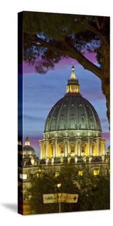 St. Peter's Basilica, Rome, Lazio, Italy-Rainer Mirau-Stretched Canvas Print