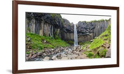 Panorama, Skaftafell National Park, Svartifoss-Catharina Lux-Framed Premium Photographic Print
