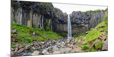 Panorama, Skaftafell National Park, Svartifoss-Catharina Lux-Mounted Premium Photographic Print