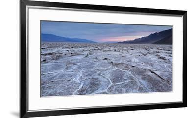 Badwater Basin, Salt Lake, Death Valley National Park, California, Usa-Rainer Mirau-Framed Premium Photographic Print