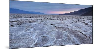 Badwater Basin, Salt Lake, Death Valley National Park, California, Usa-Rainer Mirau-Mounted Premium Photographic Print