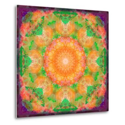 A Many Layered Flower Mandala-Alaya Gadeh-Metal Print