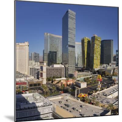 City Center Place, Veer Towers, Aria Resort, Strip, South Las Vegas Boulevard-Rainer Mirau-Mounted Photographic Print