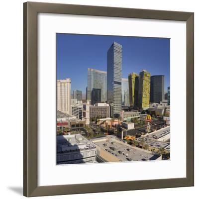 City Center Place, Veer Towers, Aria Resort, Strip, South Las Vegas Boulevard-Rainer Mirau-Framed Photographic Print