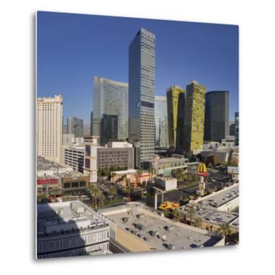 City Center Place, Veer Towers, Aria Resort, Strip, South Las Vegas Boulevard-Rainer Mirau-Metal Print