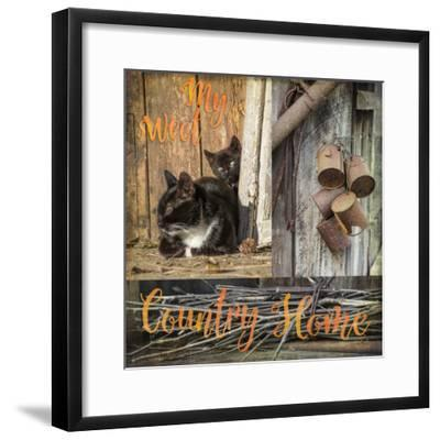 Collage, Countryside Impressions-Andrea Haase-Framed Photographic Print