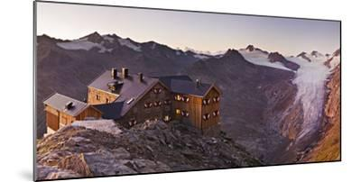 Austria, Tyrol, …tztaler Alps, Ramolhaus, Mountain Hut-Rainer Mirau-Mounted Photographic Print