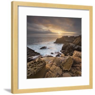 Sandstone, Salt Point State Park, Sonoma Coast, California, Usa-Rainer Mirau-Framed Photographic Print