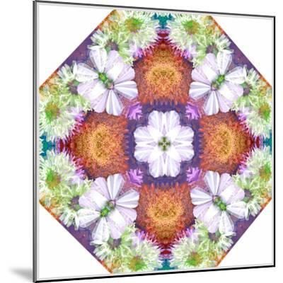 Ornamental Rhomb from Flowers-Alaya Gadeh-Mounted Photographic Print