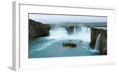 Panorama, Godafoss-Catharina Lux-Framed Photographic Print