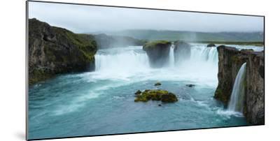 Panorama, Godafoss-Catharina Lux-Mounted Photographic Print