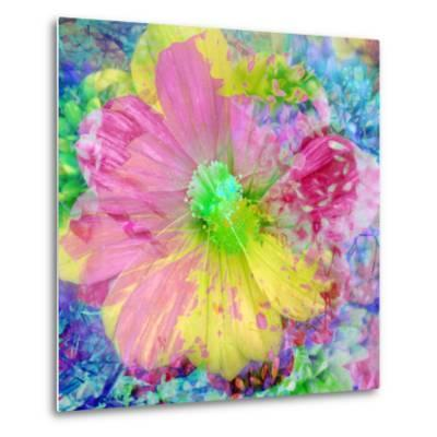 Composing with Coloured Blossoms-Alaya Gadeh-Metal Print