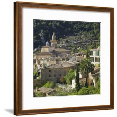 Townscape of Valldemossa, Majorca, Spain-Rainer Mirau-Framed Photographic Print