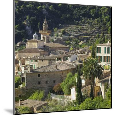 Townscape of Valldemossa, Majorca, Spain-Rainer Mirau-Mounted Photographic Print