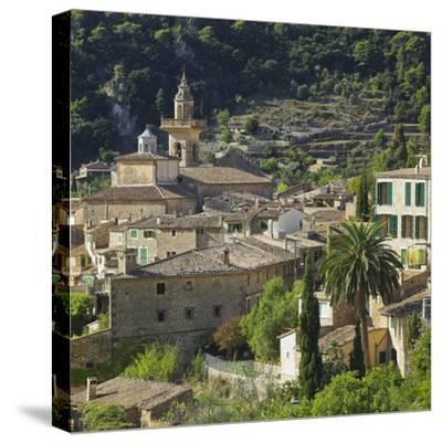 Townscape of Valldemossa, Majorca, Spain-Rainer Mirau-Stretched Canvas Print