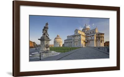 Italy, Tuscany, Pisa, Piazza Del Duomo, Cathedral-Rainer Mirau-Framed Photographic Print