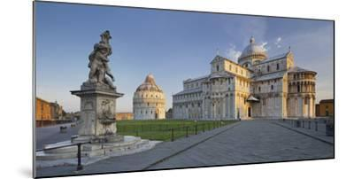 Italy, Tuscany, Pisa, Piazza Del Duomo, Cathedral-Rainer Mirau-Mounted Photographic Print
