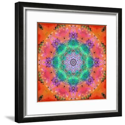 A Floral Montage-Alaya Gadeh-Framed Photographic Print