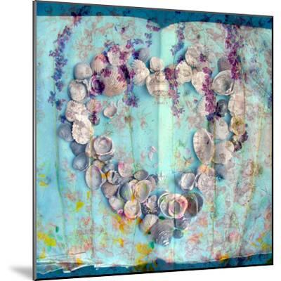 A Floral Montage with Seashells-Alaya Gadeh-Mounted Photographic Print