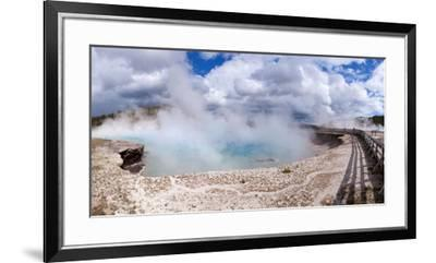 Panorama, USA, Yellowstone National Park, Excelsior Geyser-Catharina Lux-Framed Premium Photographic Print
