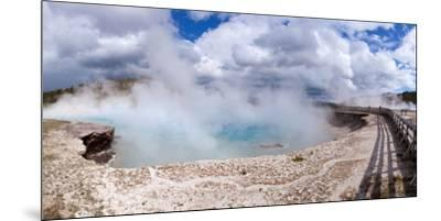 Panorama, USA, Yellowstone National Park, Excelsior Geyser-Catharina Lux-Mounted Premium Photographic Print