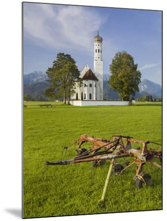 Church St Coloman, FŸssen, AllgŠu, Upper Bavaria, Bavaria, Germany-Rainer Mirau-Mounted Photographic Print