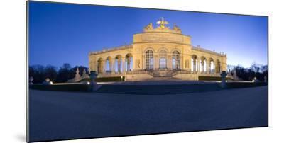 Austria, Vienna, Palace Schšnbrunn, Palace-Park, Gloriette, Buildings, Evening-Mood, Panorama-Rainer Mirau-Mounted Photographic Print