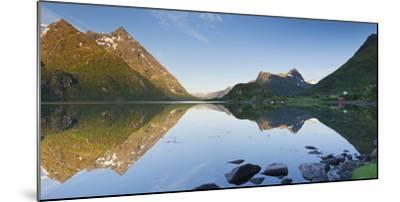 Norway, Nordland, Lofoten, Austvagoya, Austnesfjorden-Rainer Mirau-Mounted Photographic Print