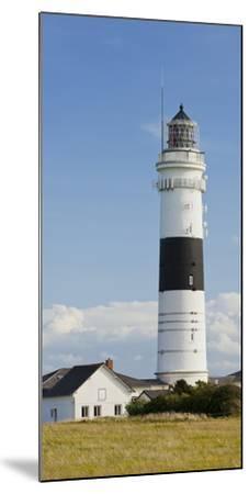 Lighthouse of Kampen (Municipality), Sylt (Island), Schleswig-Holstein, Germany-Rainer Mirau-Mounted Photographic Print