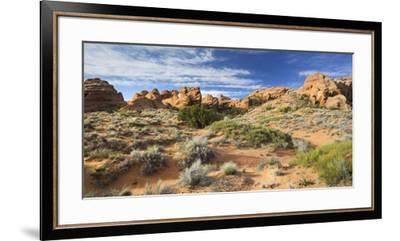 Sandstone Formations in the Devils Garden, Arches National Park, Utah, Usa-Rainer Mirau-Framed Premium Photographic Print