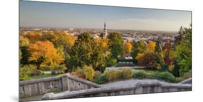 Parish Church, Kurpark, Beethoven's Temple, Baden Near Vienna, Lower Austria, Austria-Rainer Mirau-Mounted Premium Photographic Print