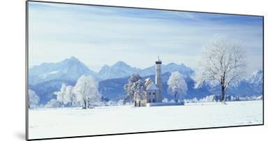 Germany, Bavaria, AllgŠu, Schwangau, Pilgrimage Church Saint Coloman-Herbert Kehrer-Mounted Photographic Print