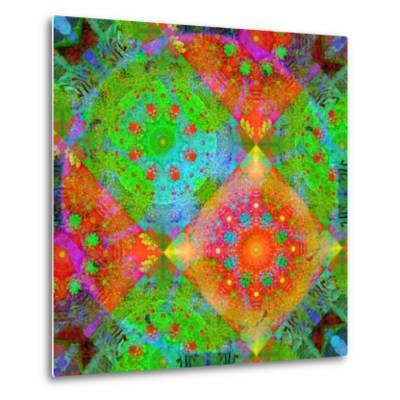 Geometrical Ornament of Flower Photos-Alaya Gadeh-Metal Print