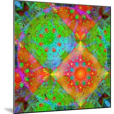 Geometrical Ornament of Flower Photos-Alaya Gadeh-Mounted Photographic Print