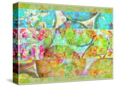 A Floral Montage-Alaya Gadeh-Stretched Canvas Print