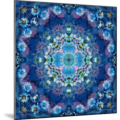 Mandala of Flower Photographies-Alaya Gadeh-Mounted Photographic Print
