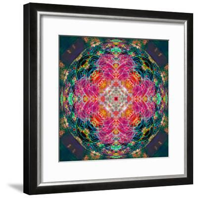 Photomontage of Flowers, Conceptual Composing Work-Alaya Gadeh-Framed Photographic Print