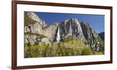 Upper Yosemite Falls, Yosemite National Park, California, Usa-Rainer Mirau-Framed Premium Photographic Print