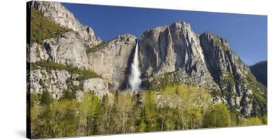 Upper Yosemite Falls, Yosemite National Park, California, Usa-Rainer Mirau-Stretched Canvas Print